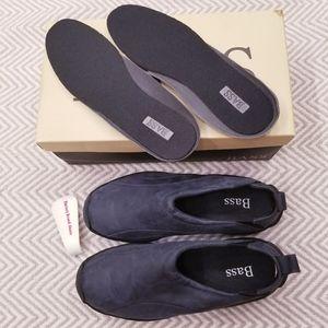 Bass Spunky II Navy Blue Slip On Walking Shoes 10M